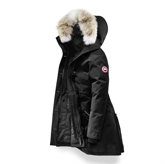 Image of Canada Goose Ladies Rossclair Parka, Black