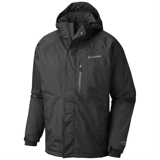 Image of   Columbia Alpine Action Jacket Mens, Black