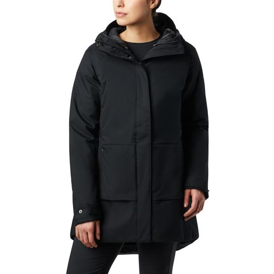 Image of   Columbia Autumn Rise Trench Jacket Womens, Black