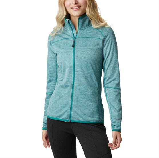 Image of   Columbia Baker Valley Full Zip Fleece Womens, Waterfall