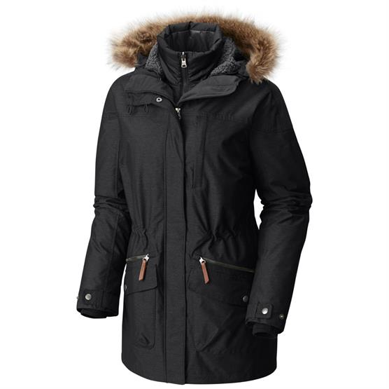Image of   Columbia Carson Pass Interchange Jacket Womens, Black