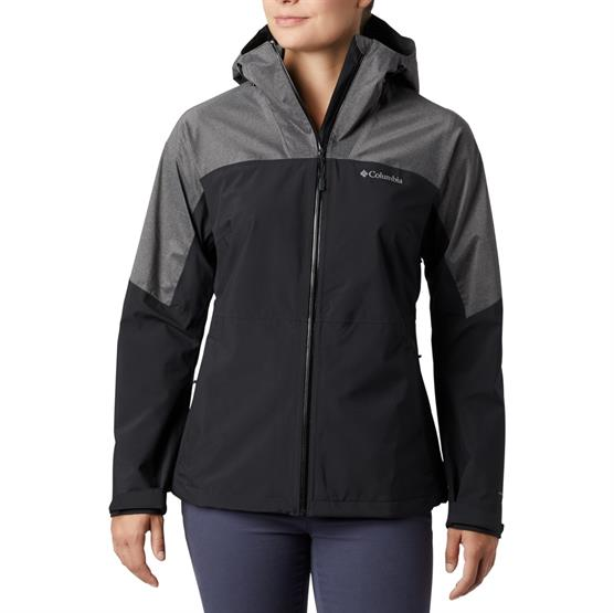 Image of   Columbia Evolution Valley II Jacket Womens, Black / Charcoal