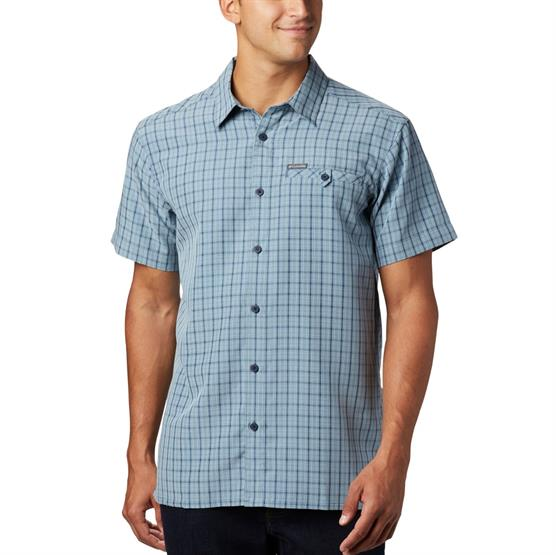 Image of   Columbia Declination Trail II S/S Shirt Mens, Dark Mountain
