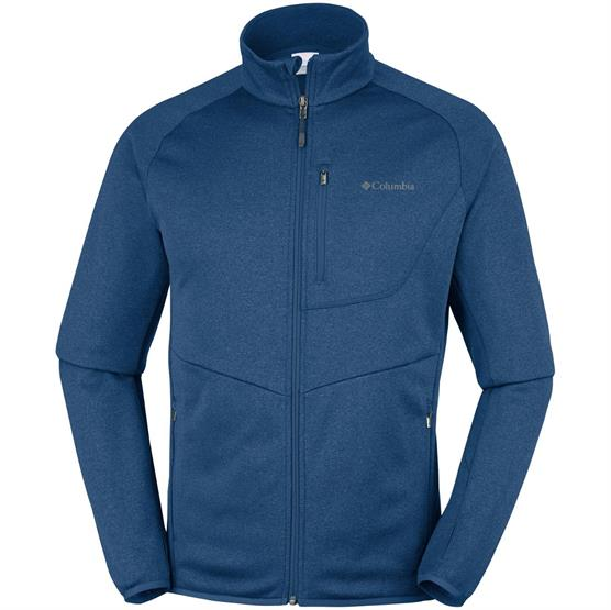 Image of   Columbia Drammen Point Full Zip Fleece Mens, Carbon Heather