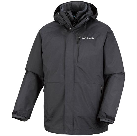Image of   Columbia Element Blocker Interchange Jacket Mens, Black