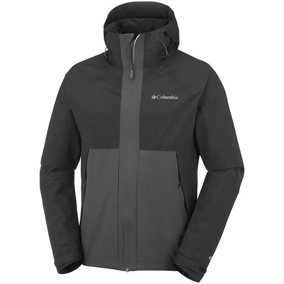 Image of   Columbia Evolution Valley Jacket Mens, Black / Shark