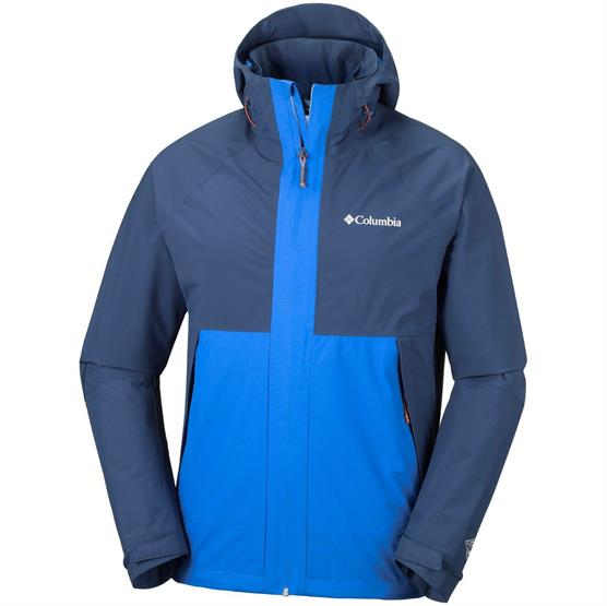 Image of   Columbia Evolution Valley Jacket Mens, Super Blue / Carbon