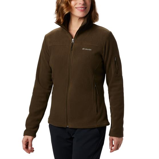 Image of   Columbia Fast Trek II Jacket Womens, Olive Green