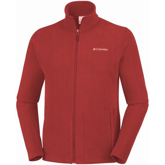 Image of   Columbia Fast Trek Light Full Zip Fleece Mens, Carnelian Red