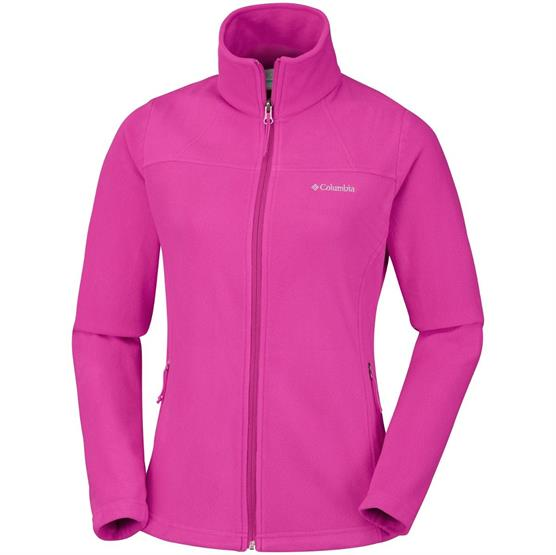 Image of   Columbia Fast Trek Light Full Zip Womens, Wine Berry