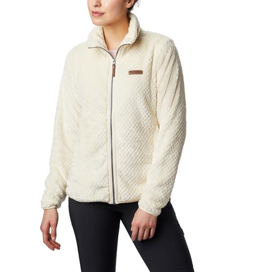 Image of   Columbia Fire Side II Sherpa FZ Womens, Chalk