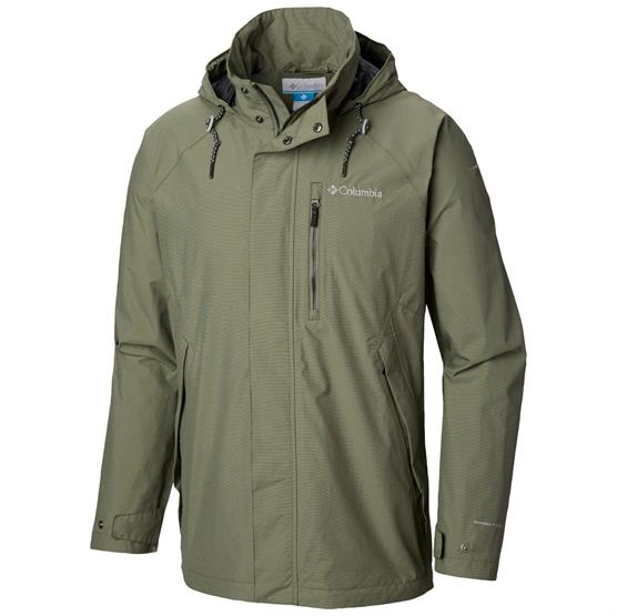 Image of   Columbia Good Ways II Jacket Mens, Cypress Heather