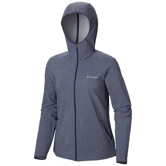 Image of   Columbia Heather Canyon Softshell Jacket Womens, Nocturnal