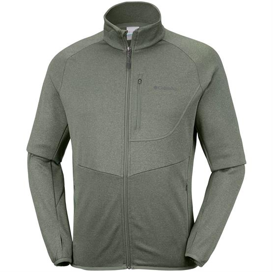 Image of   Columbia Drammen Point Full Zip Fleece Mens, Cypress Heather