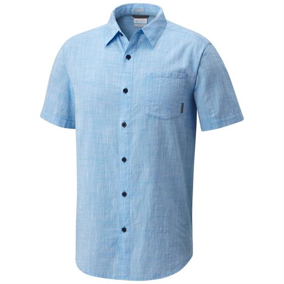Image of   Columbia Under Exposure YD Short Sleeve Shirt Mens, Yacht