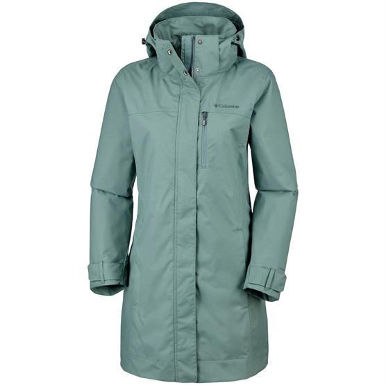 Image of   Columbia Hideaway Creek Jacket Womens, Pond
