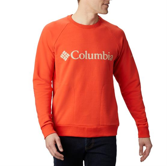 Image of   Columbia Lodge Crew Mens, Wildfire / Fossil