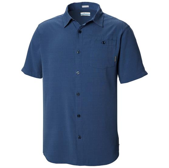 Image of   Columbia Mossy Trail Short Sleeve Shirt Mens, Carbon