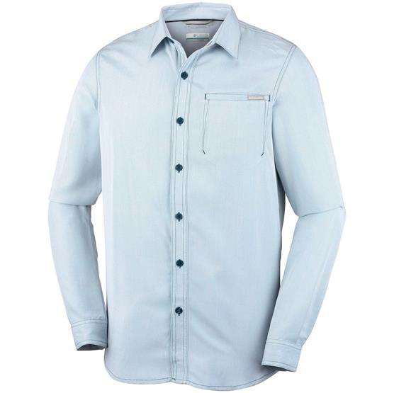 Image of   Columbia Nelson Point L/S Shirt Mens, Carbon