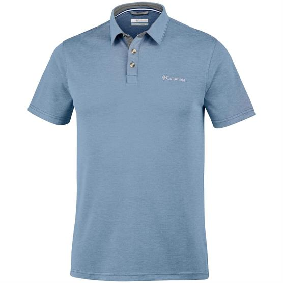 Image of   Columbia Nelson Point Polo Mens, Mountain