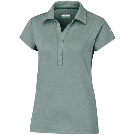 Image of   Columbia Shadow Time Polo Womens, Pond