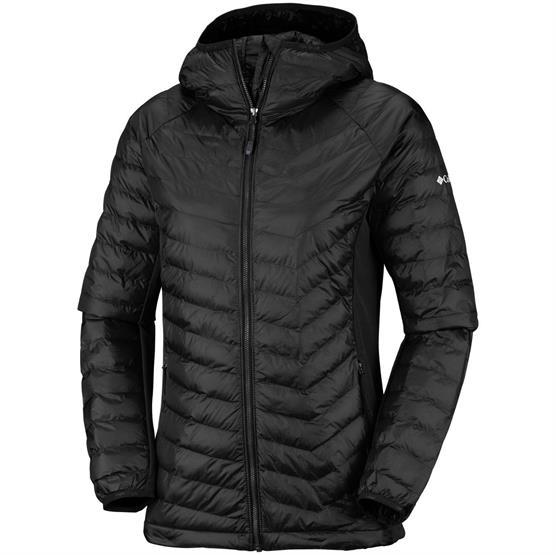 Image of   Columbia Powder Lite Hooded Jacket Womens, Black