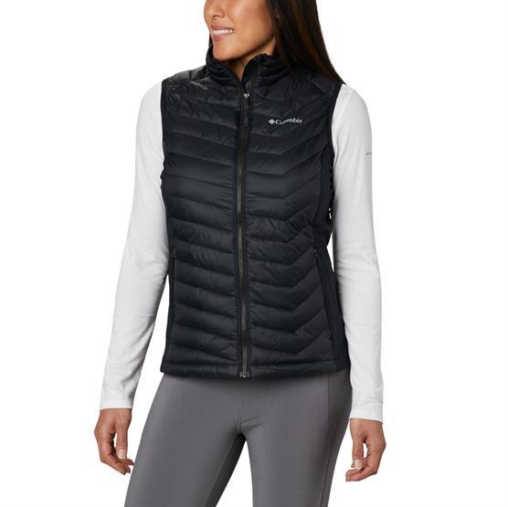 Image of   Columbia Powder Pass Vest Womens, Black