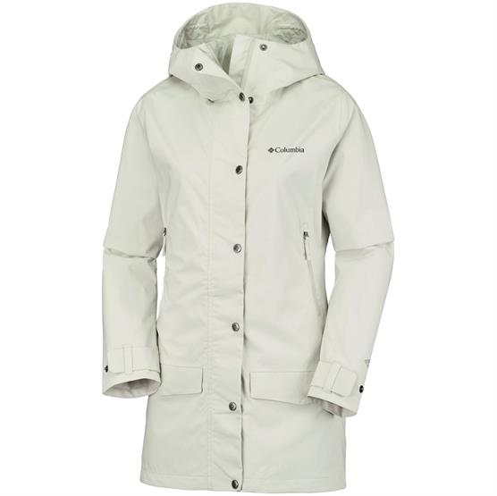 Image of   Columbia Rainy Creek Trench Womens, Stone