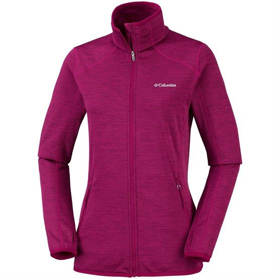 Image of   Columbia Sapphire Trail Fleece Jacket Womens, Wine Berry