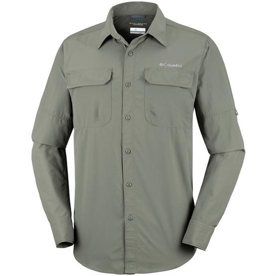 Image of   Columbia Silver Ridge II Long Sleeve Shirt Mens, Cypress