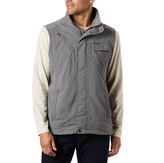 Image of   Columbia Silver Ridge II Vest Mens, City Grey