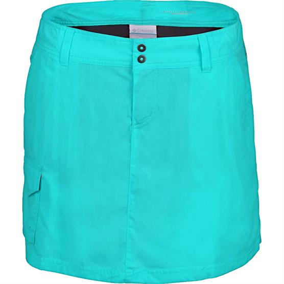 Image of   Columbia Silver Ridge Skort Womens, Turquoise
