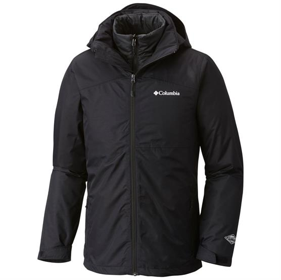 Image of   Columbia Aravis Explorer Interchange Jacket Mens, Black
