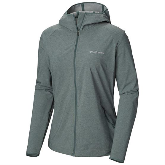 Image of   Columbia Heather Canyon Softshell Jacket Womens, Pond