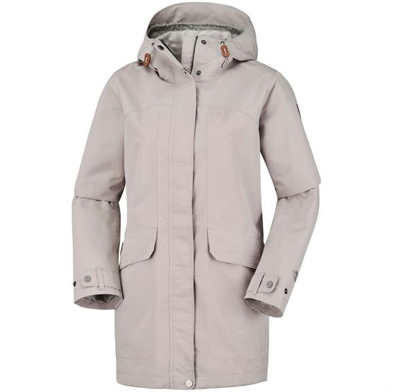 Image of   Columbia South Canyon Long Hooded Jacket Womens, Flint Grey
