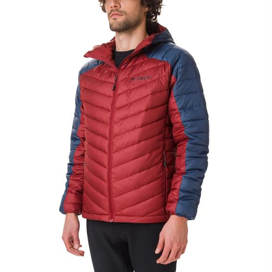 Image of   Columbia Horizon Explorer Hooded Jacket Mens, Red Jasper