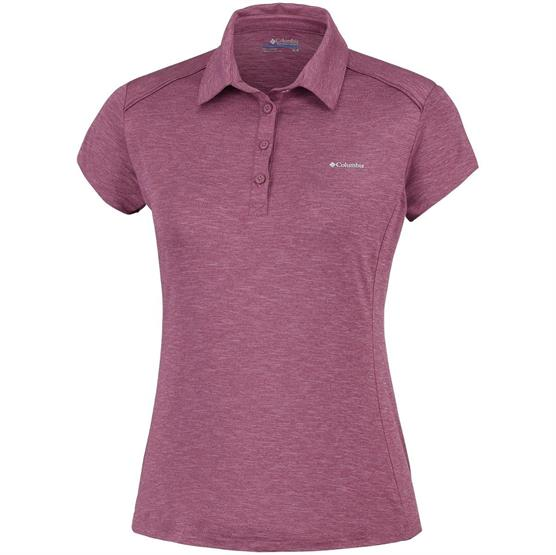 Image of   Columbia Firwood Camp Polo Womens, Antique Mauve