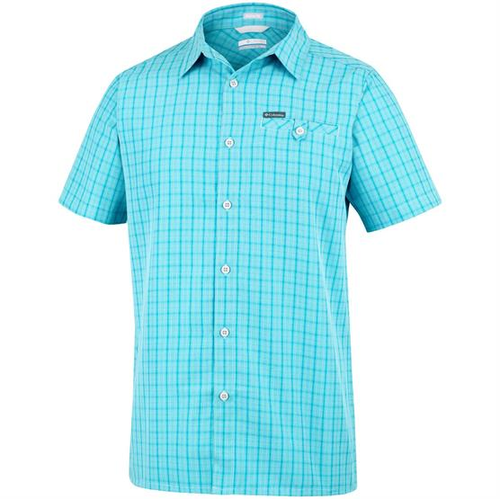 Image of   Columbia Declination Trail II S/S Shirt Mens, Iceberg Mini