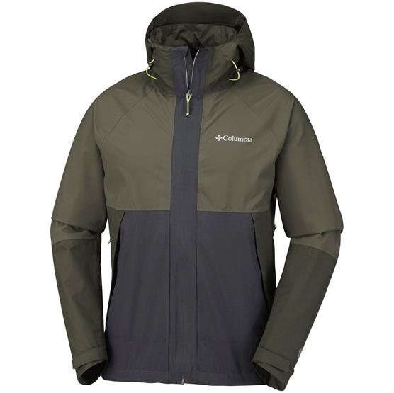 Image of   Columbia Evolution Valley Jacket Mens, Shark / Peatmoss