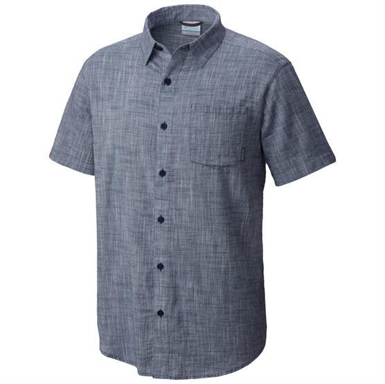 Image of   Columbia Under Exposure YD Short Sleeve Shirt Mens, Zinc