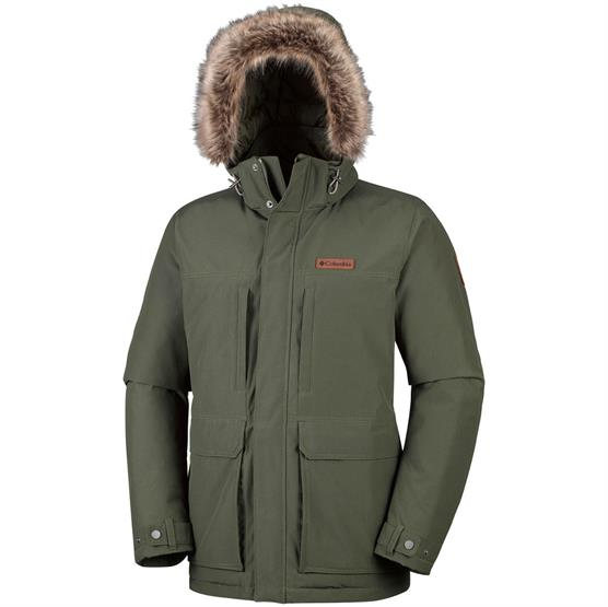 Image of   Columbia Marquam Peak Jacket Mens, Peatmoss