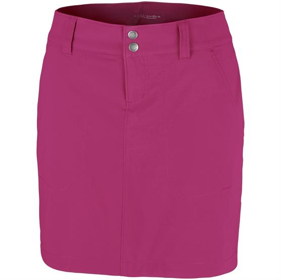 Image of   Columbia Saturday Trail Skort Womens, Wine Berry