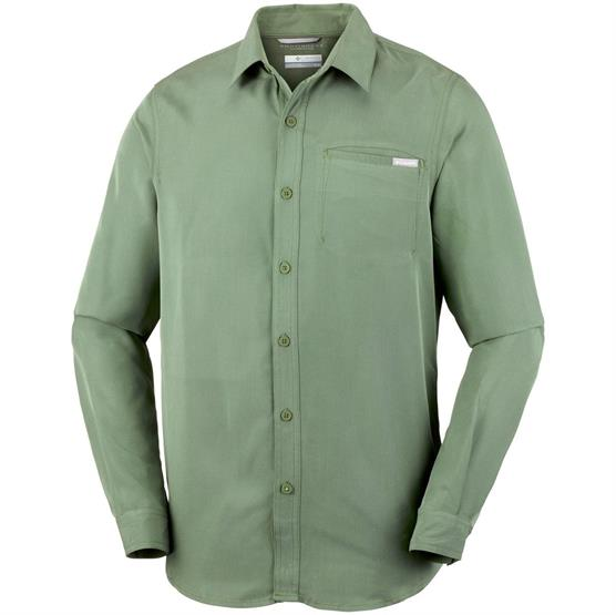 Image of   Columbia Nelson Point L/S Shirt Mens, Mosstone