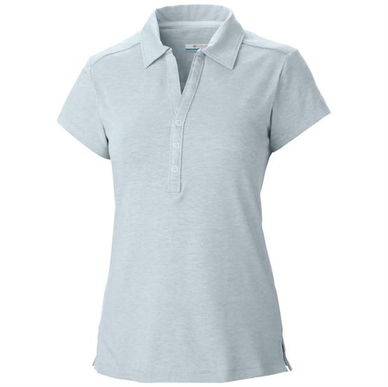 Image of   Columbia Shadow Time Polo Womens, Cirrus Grey