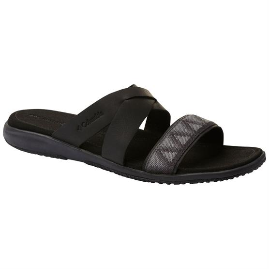 Image of   Columbia Solana Slide Womens, Black / Shark