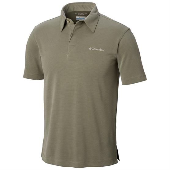 Image of   Columbia Sun Ridge Polo Mens, Cypress