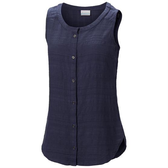 Image of   Columbia Summer Ease Sleeveless Shirt Womens, Nocturnal