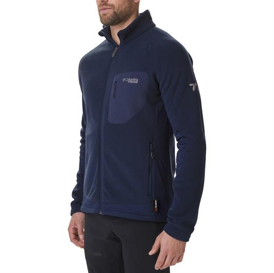 Image of   Columbia Titan Pass 2.0 II Fleece Mens, Collegiate Navy