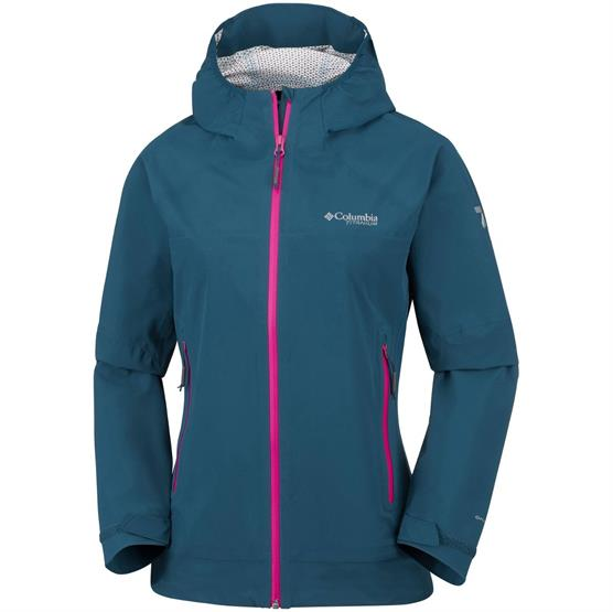 Image of   Columbia Trail Magic Shell Womens, Petrol Blue
