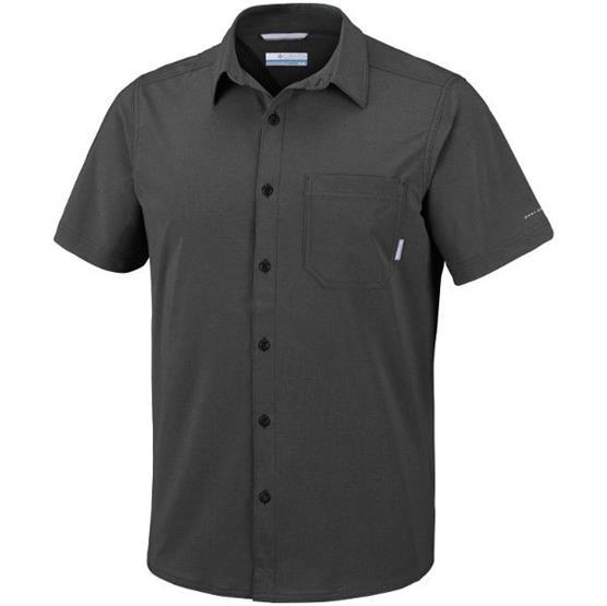 Image of   Columbia Triple Canyon Short Sleeve Shirt Mens, Shark